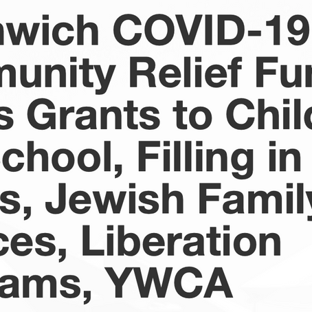 Greenwich COVID-19 Community Relief Fund Issues Grants to Children's Day School, FITB