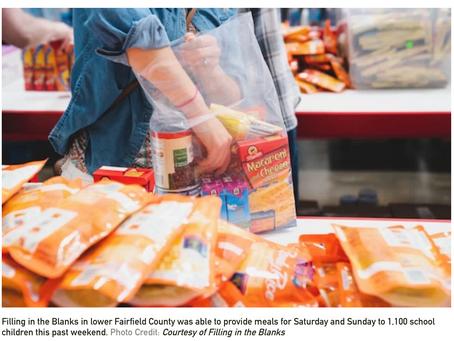 Coronavirus Doesn't Stop Filling in Blanks From Feeding Fairfield County School Children