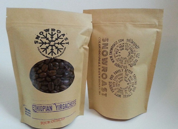 One pound of Ethiopian Yirgacheffe G1 Torea Village