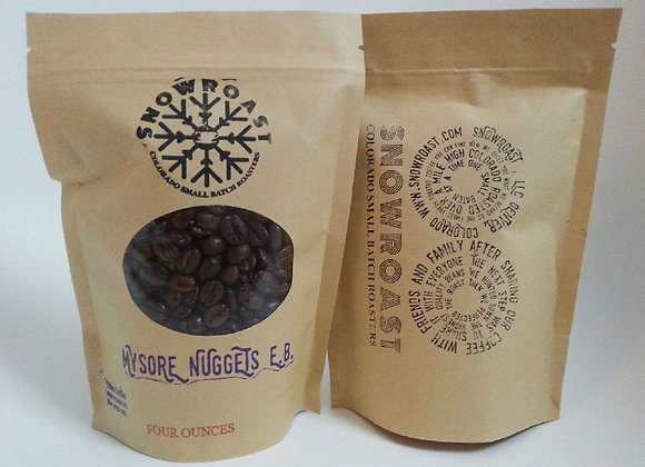 One pound of Indian Mysore Nuggets Extra Bold