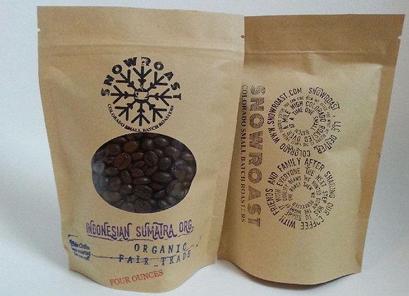 One pound of Indonesian Sumatra Mandheling Organic