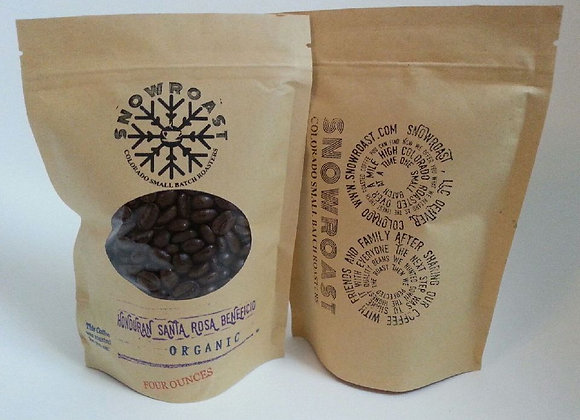 One pound of Honduran Santa Rosa Beneficio Organic