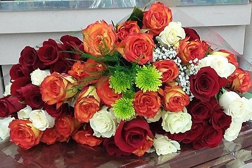 60 Premium roses.