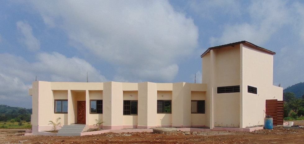 Finished clinic in Agou, Togo