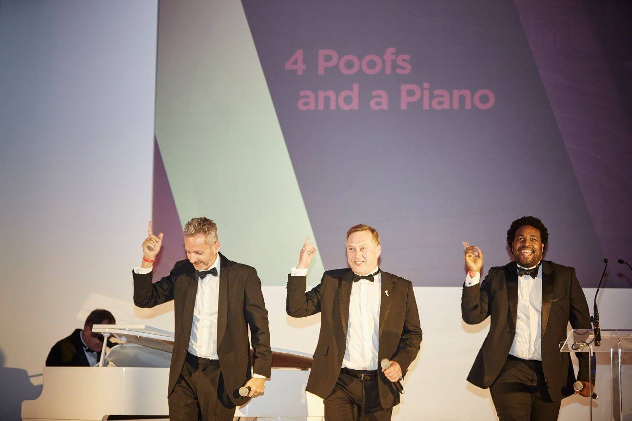 4 Poofs and a Piano