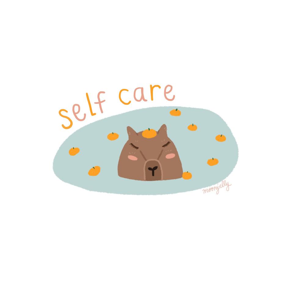 Self Care Capybara