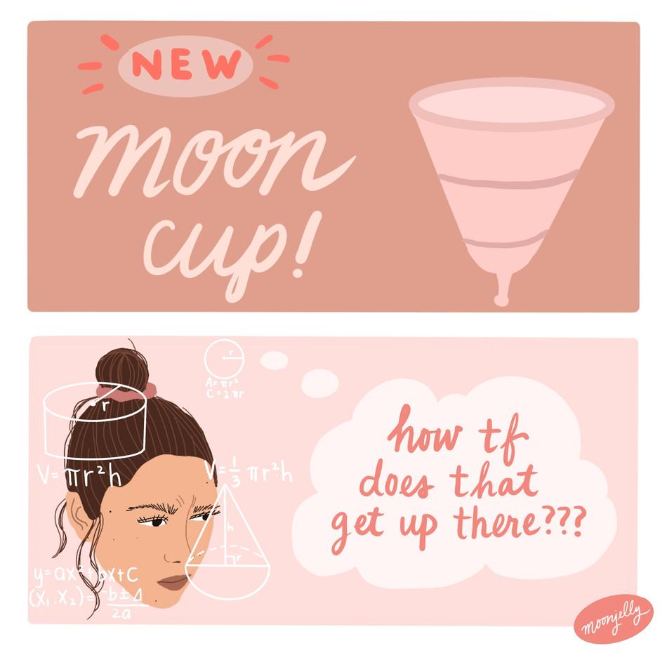 Divine Feminine Goddess Blood Cup