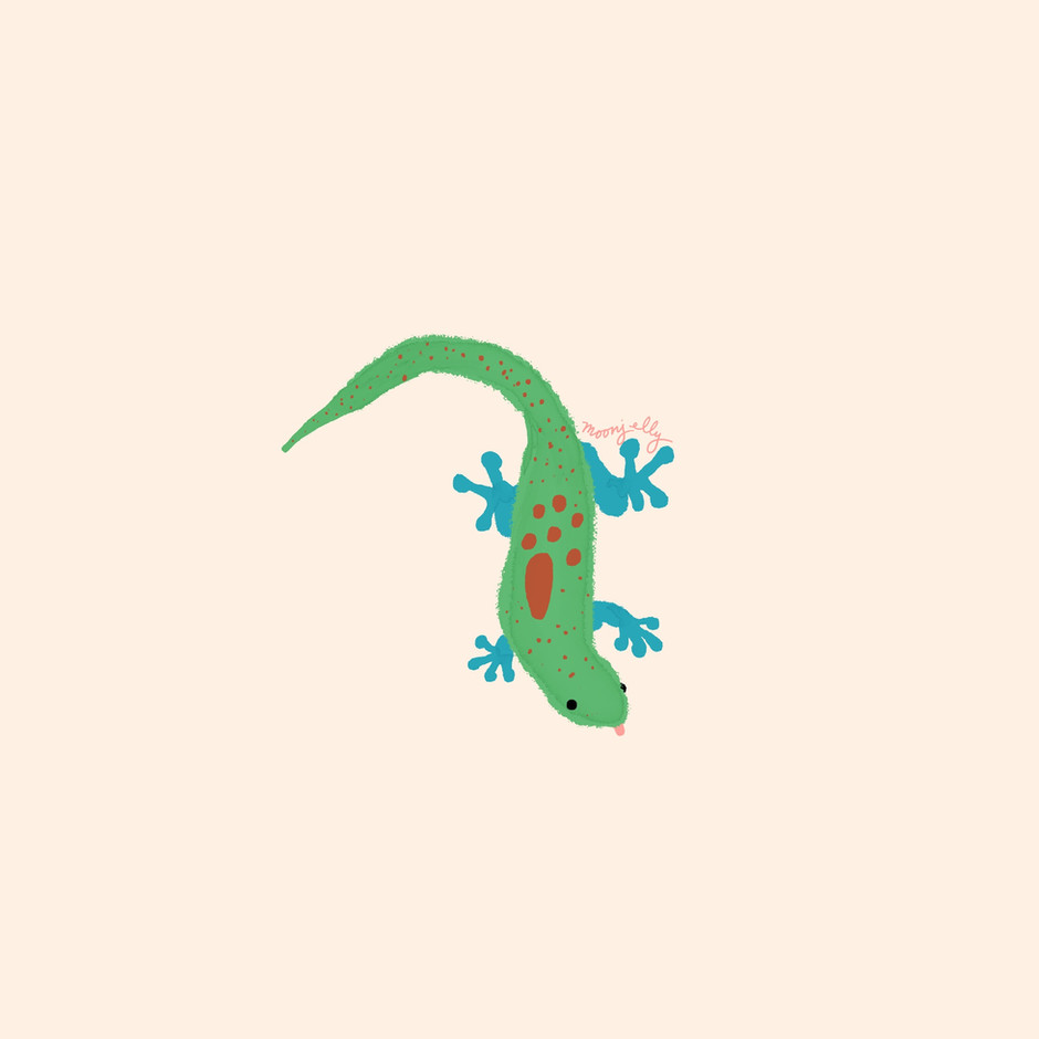 Operation Christmas Drop's CGI Gecko