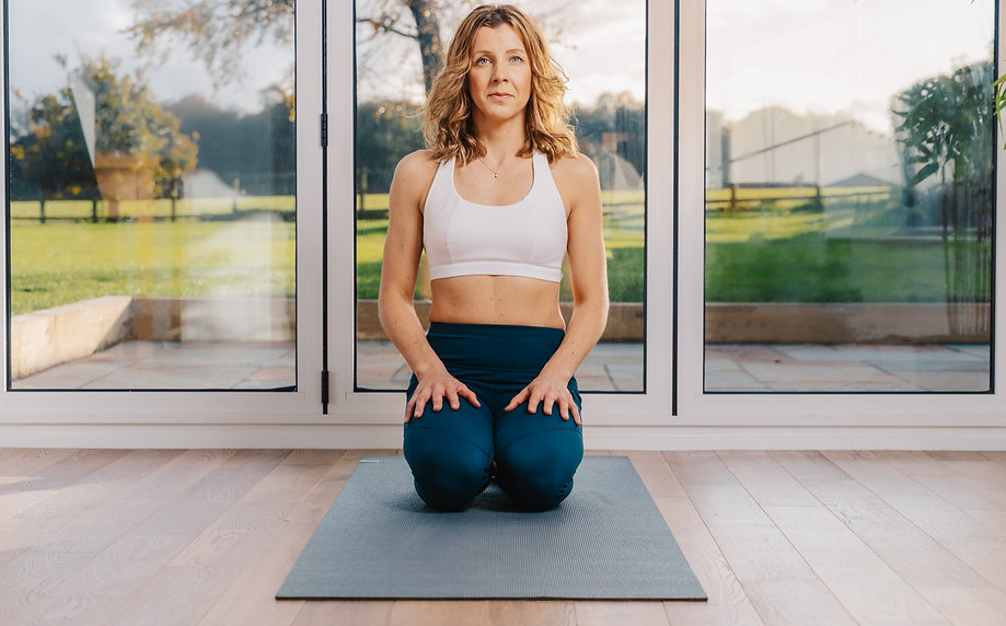 LDV Yoga Kneeled Pose