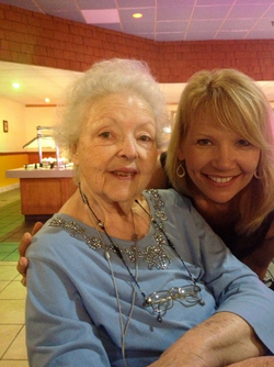 With Dr Virginia Pyle - 2013