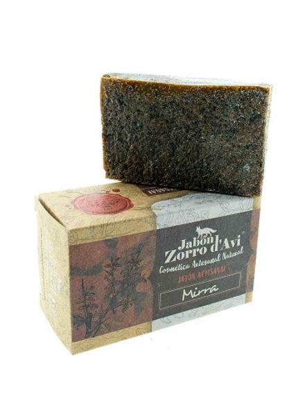 Jabón Ecológico de Mirra Zorro
