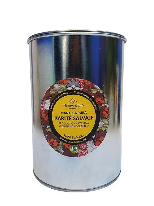 Manteca pura de Karité Salvaje 900ml