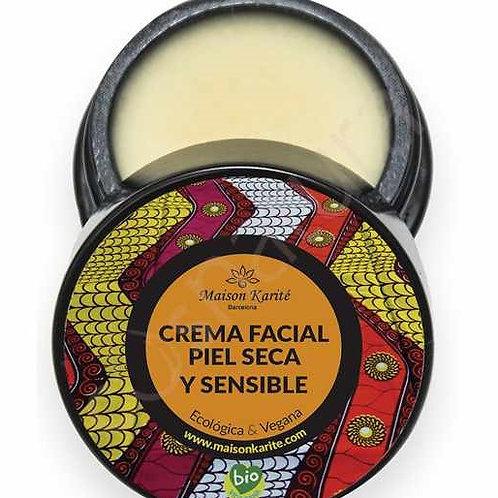 Crema Facial piel seca y sensible