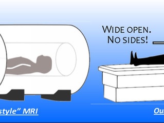 Closed MRI vs Open MRI