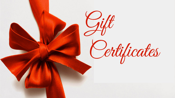 Gift Certificate ~ $200