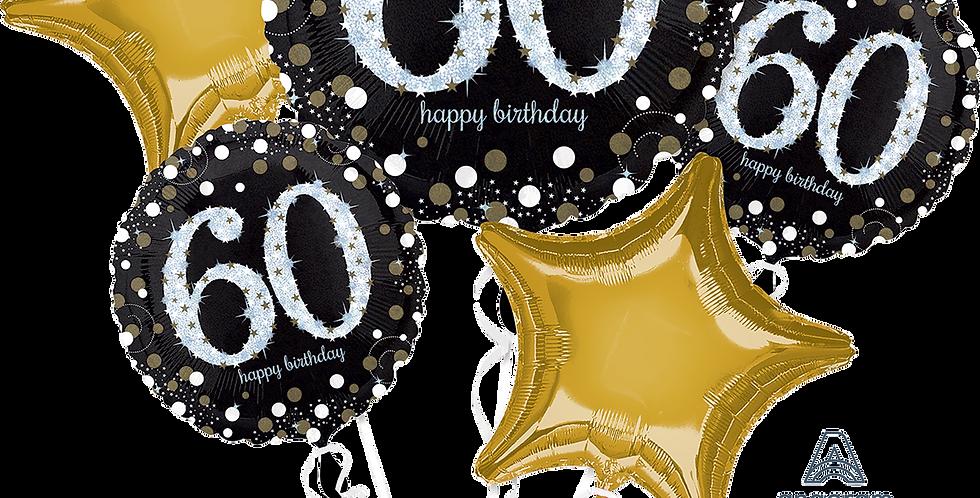 Milestone Birthday Balloon Bouquet