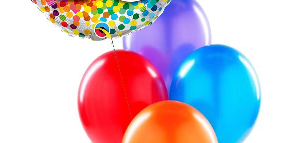 Colorful Milestone Birthday Bouquet