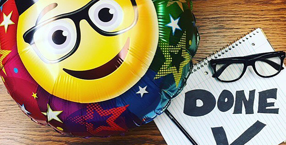 Graduation Emoji Balloon