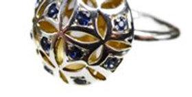 Pomander Sapphire ring