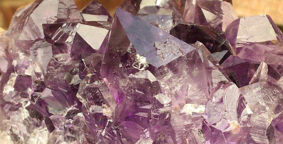 Amethyst Crystal Cluster.