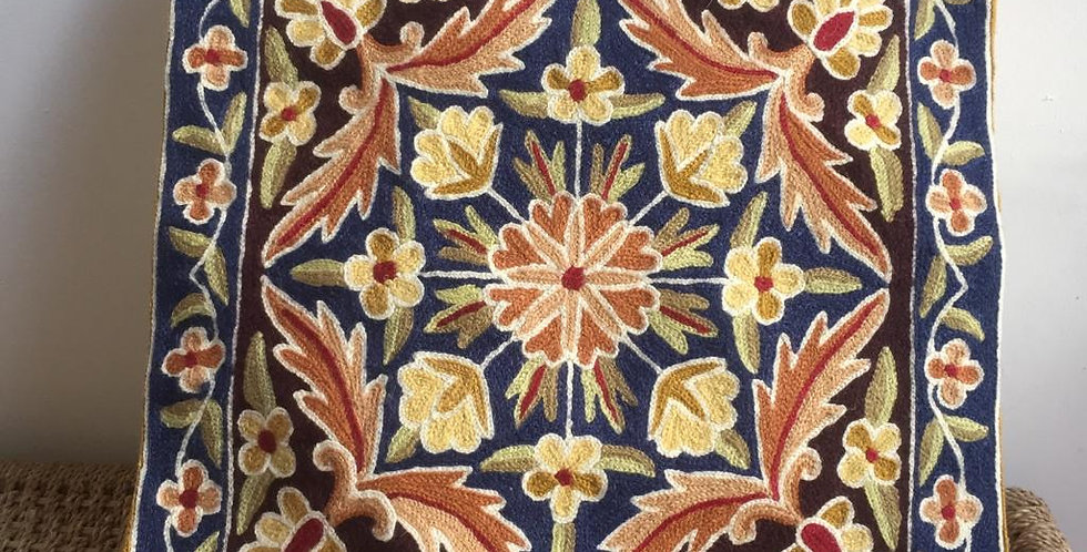 Traditional Floral mandala cushion cover