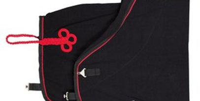 Polaire noire & rouge