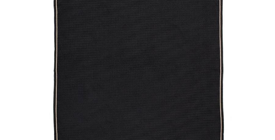 Tenture de boxe Noir