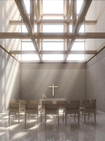 Sjöblom Freij Arkitekter Ylivieska Side Altar