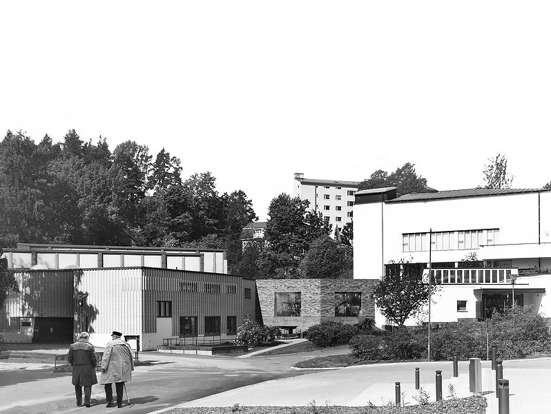 Sjöblom Freij Arkitekter Aalto Visualisation