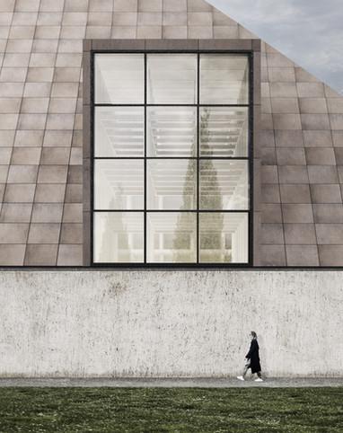 Sjöblom Freij Arkitekter Ylivieska Facade