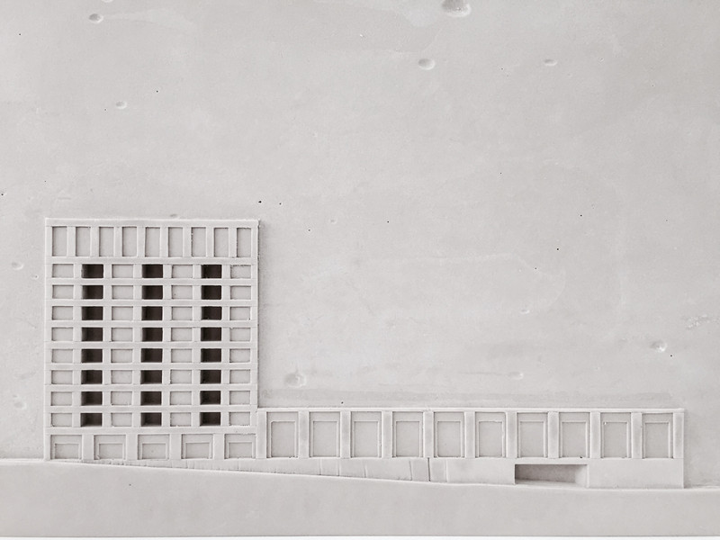 Sjöblom Freij Arkitekter Musköten Model
