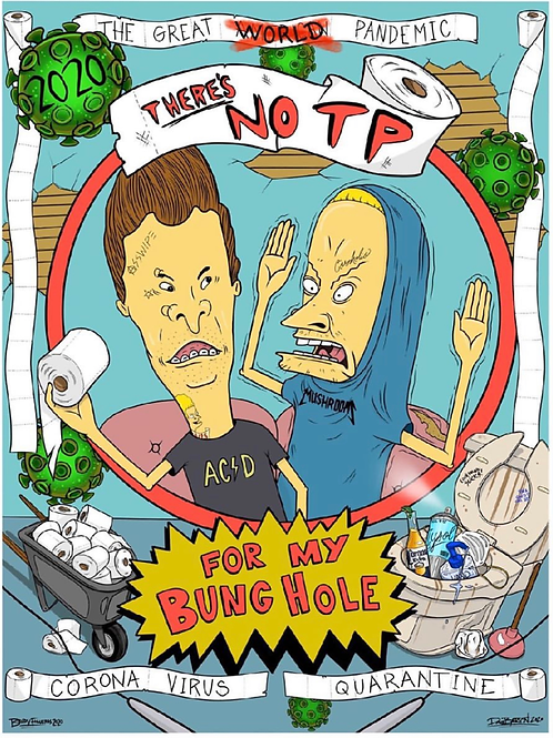 Bevis & Butthead Collaborative Poster