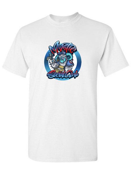 White Mystic Yeti T-Shirt