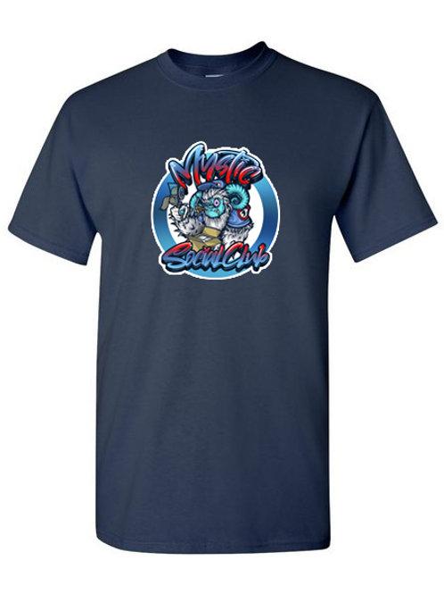 Navy Mystic Yeti T-Shirt