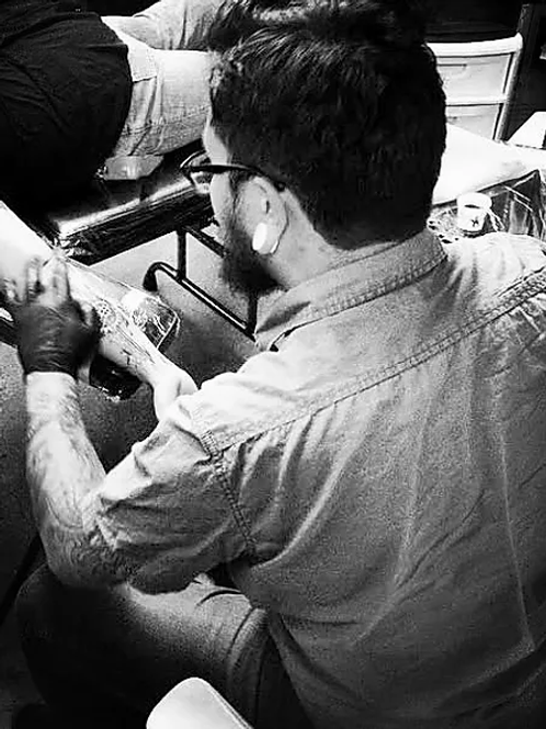 Abraham Avila Tattoo Deposit