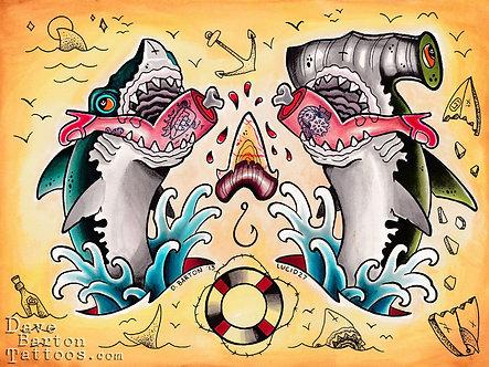 Shark Week 2013 Print