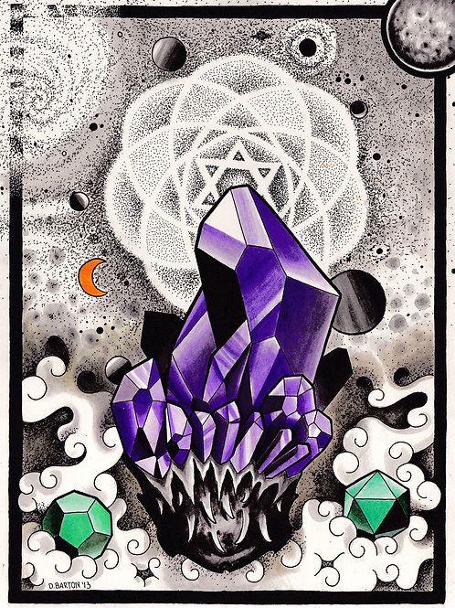"""Amethyst"" Paper Print - Dave Barton"