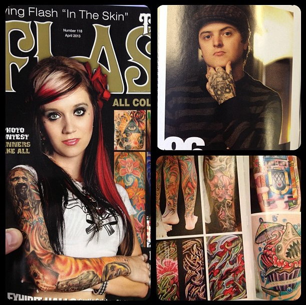 TATTOO FLASH ARTICLE!!!!