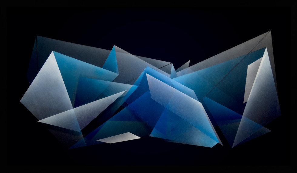 Zac Koukoravas-Black and Blue-2017-acrylic and enamel paint on acrylic-84x144cm.jpg