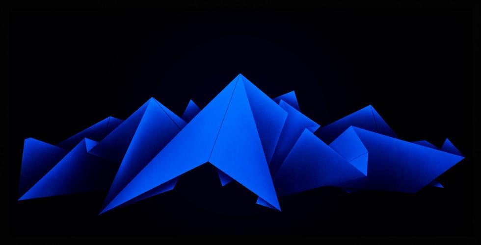 Zac Koukoravas-Blue Lines-2017-acrylic and enamel paint on acrylic-243x123cm.jpg
