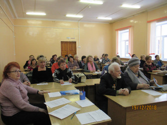 Избран новый состав Совета ветеранов педагогического труда