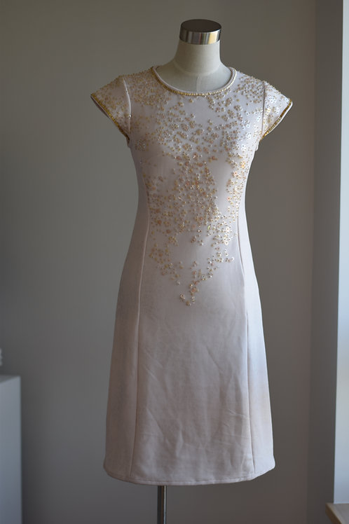 GOLDEN SEQUI DRESS