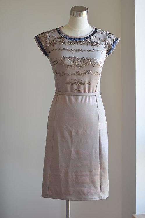 CROME SEQUINE DRESS