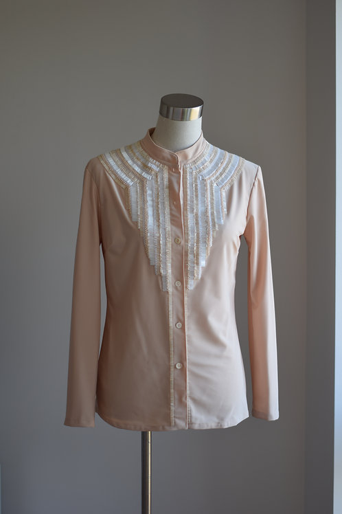 BUTTONED UP BLOUSE