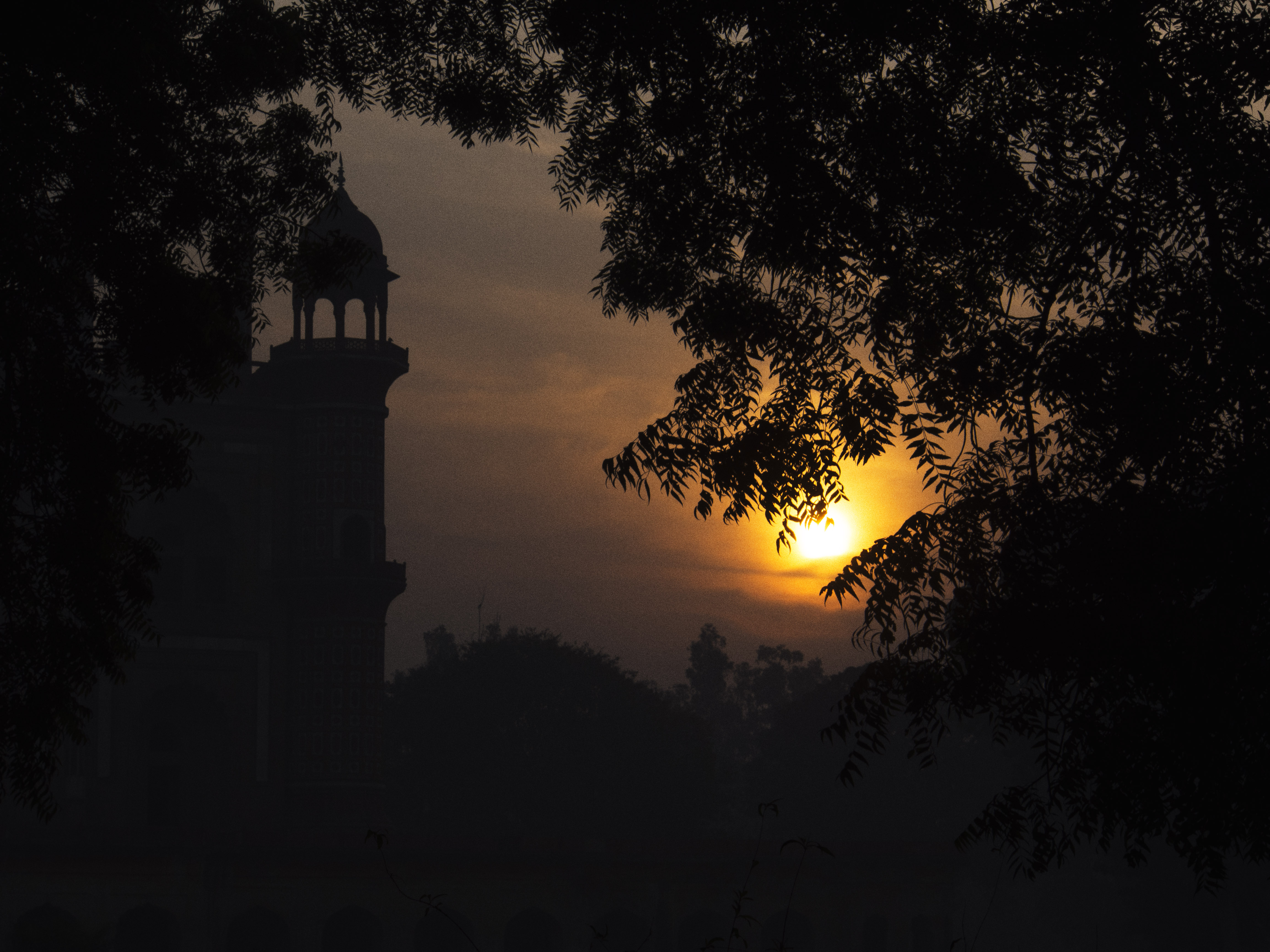 stock-photo-daybreak-in-delhi-130416321.