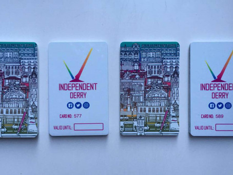 12Places To Use Your Independent Derry Card today.