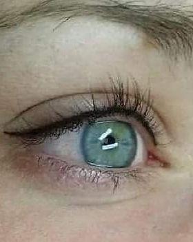 Dokk11 Eyeliner boven na de behandeling.