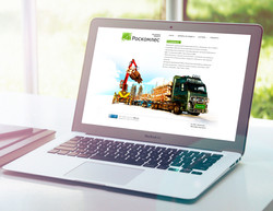 Promo-site for a timber company