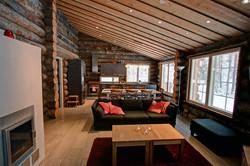 Интерьр дома в Лапландии