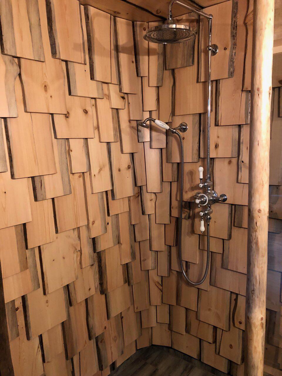 Pine tiles